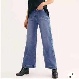 Rollas sailor wide leg jean